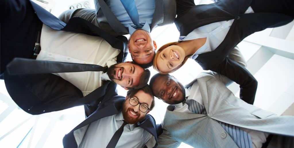 Softskills und Motivation - Gruppe von Leuten