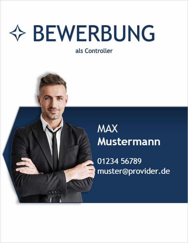 Bewerbung Deckblatt classic business 5