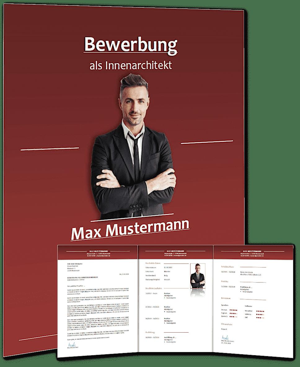 Lebenslauf Vorlage 'classic business' #2