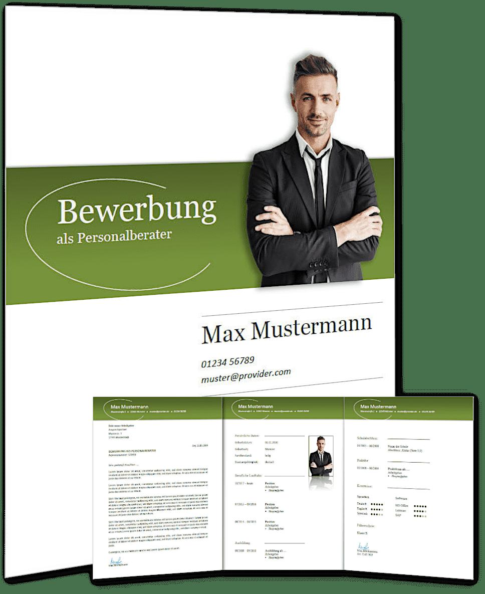 Lebenslauf Vorlage 'classic business' #3