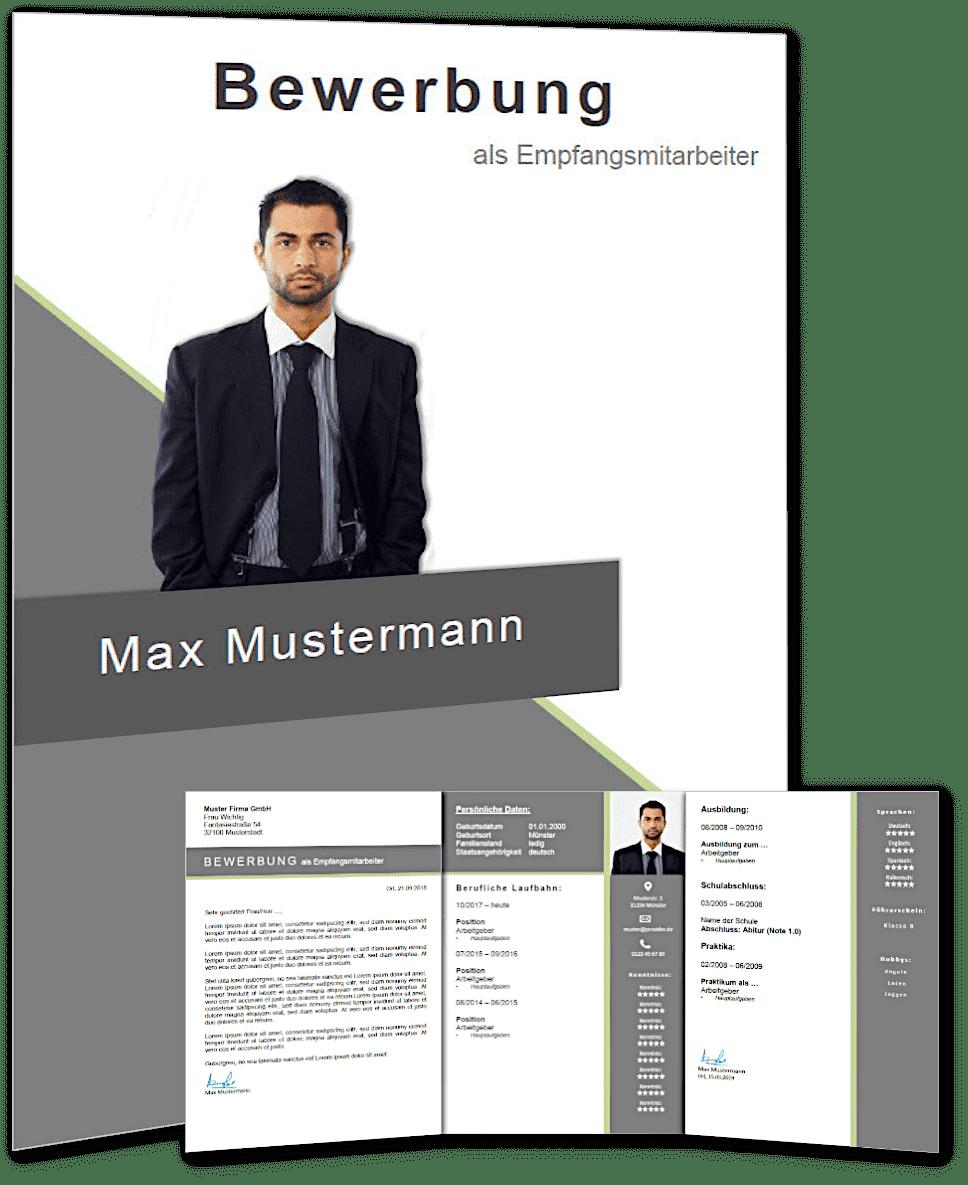 Lebenslauf Vorlage 'modern job' #3