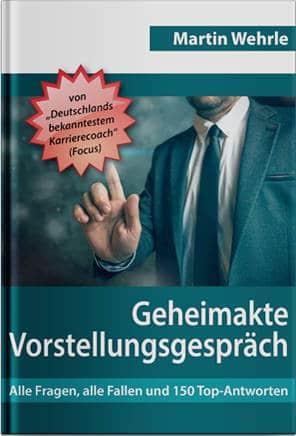 Geheimakte Vorstellungsgespräch Buchcover