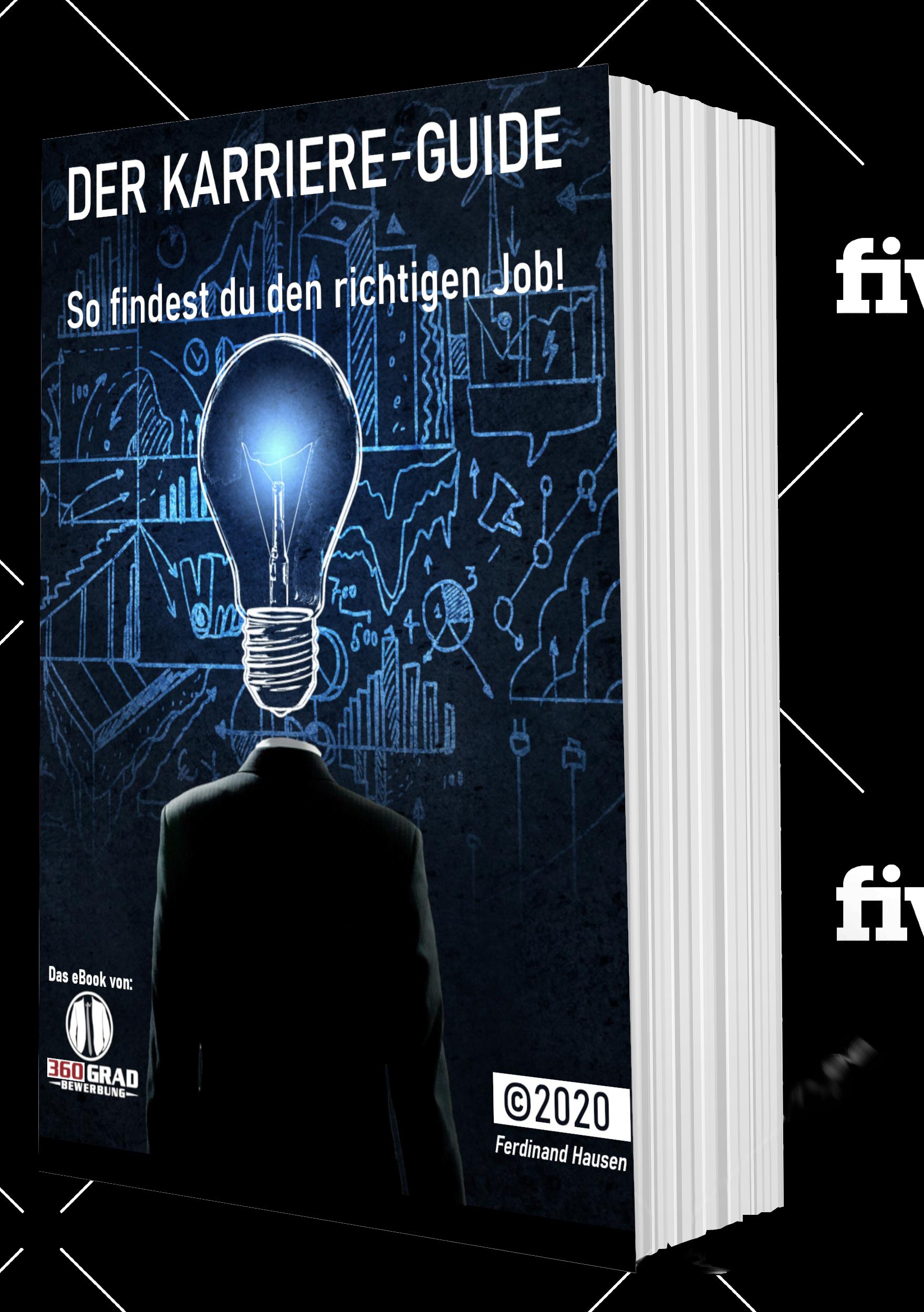 Der Bewerbungs-Guide Buchcover