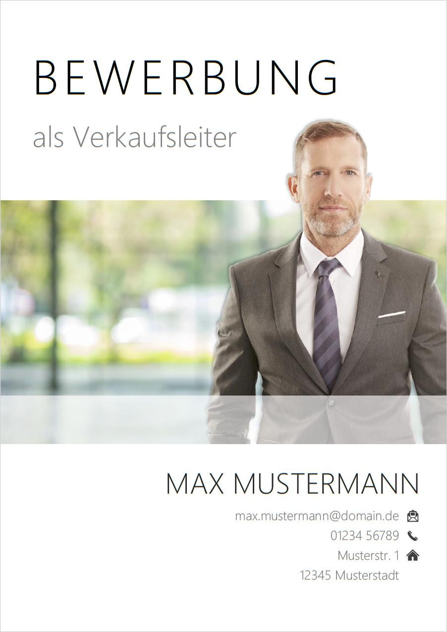 Bewerbung Deckblatt Manager 5