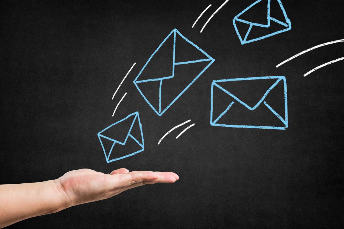 Bewerbung E-Mail Symbole